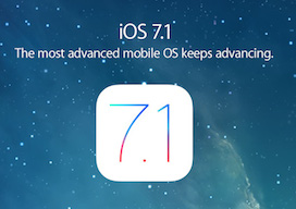 iOS 7.1 Apple Promo spotlight
