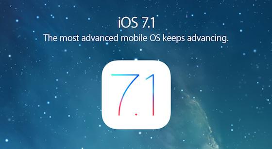 iOS 7.1 Apple Promo