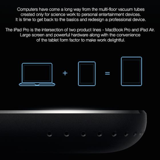 iPad Pro concept 1