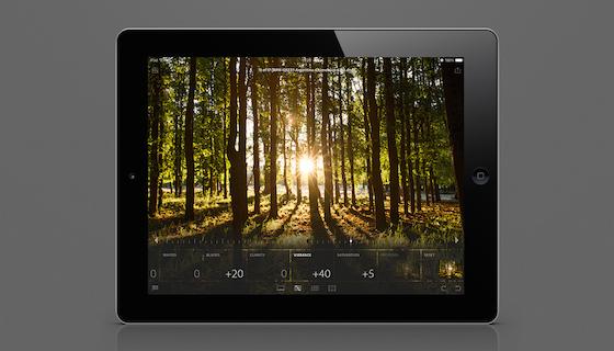 Lightroom voor iPad 1