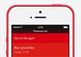 Clear met reminders iOS