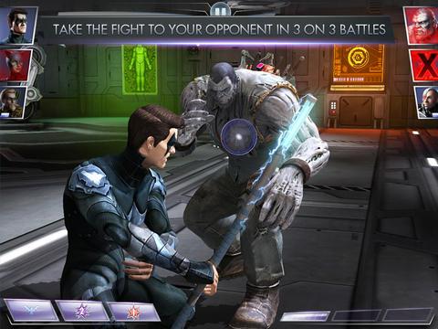 Injustice vechten met striphelden