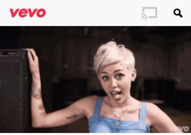 Vevo iPhone iPad Miley Cirus nieuws