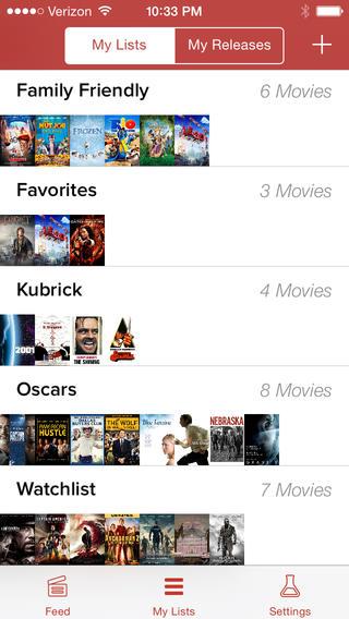 Moviedo persoonlijke collecties