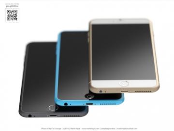 iPhone 6s iPhone 6c concept 8