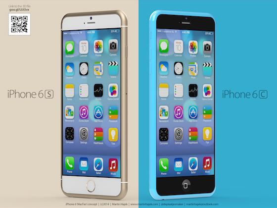 iPhone 6s iPhone 6c concept 9