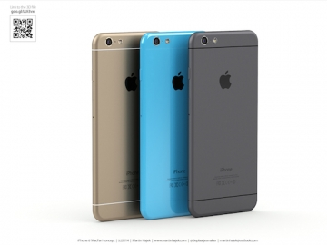 iPhone 6s iPhone 6c concept 7