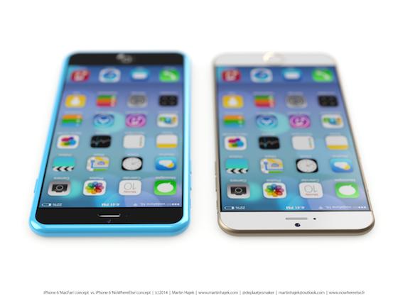 iPhone 6s iPhone 6c concept 1