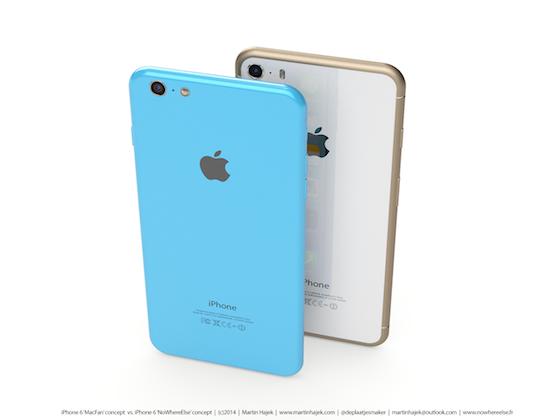 iPhone 6s iPhone 6c concept 3