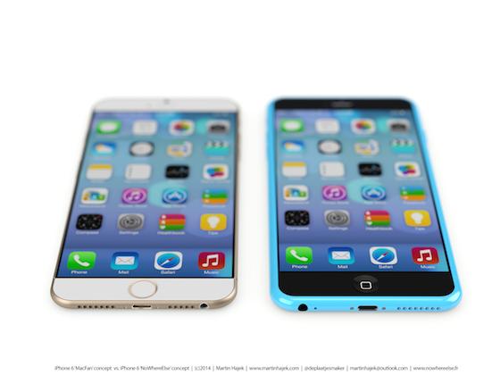 iPhone 6s iPhone 6c concept 2