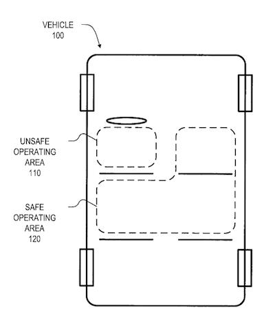 Patent iPhone auto