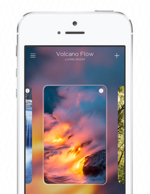 Goldee for Philips Hue Volcano Flow iPhone