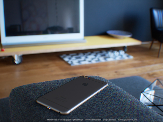 iPhone 6 concept Martin Hajek 3