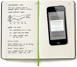 Evernote en Moleskine brengen zakelijke notitieboeken uit