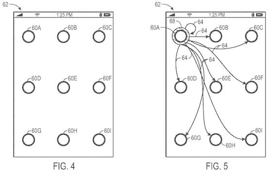 Apple patent ontgrendelscherm