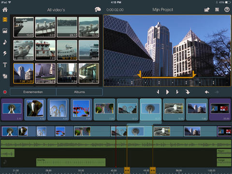 Videobewerken op iPad met Pinnacle Studio iOS 7
