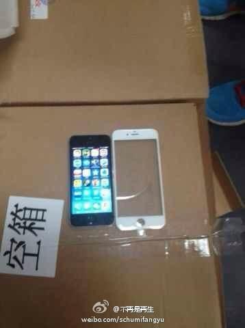iPhone 6 voorkant gelekte foto 2