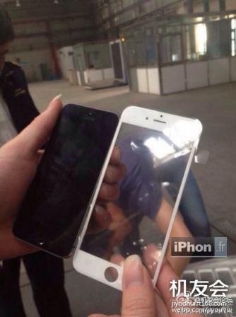 iPhone 6 voorkant gelekt foto