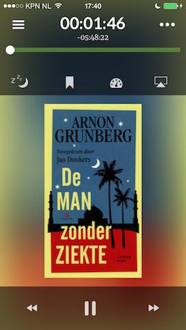 Storytel afspelen boek iPhone