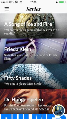Storytel iPhone series
