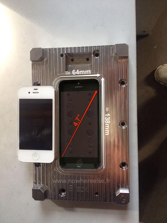 iPhone 6 mal afmetingen