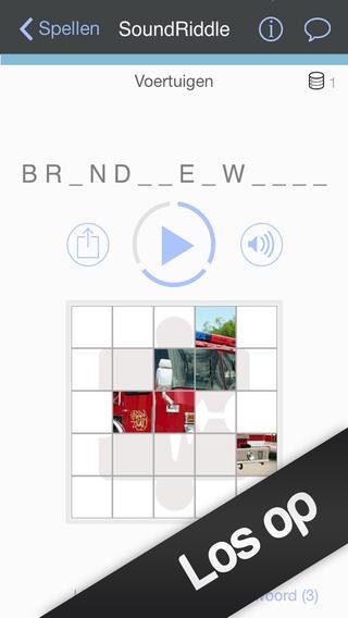 SoundRiddle iPhone geluid raden