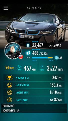 driving-curve-app