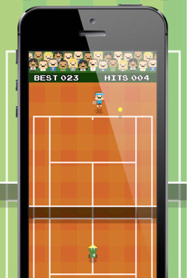 Impossible Tennis Game iPhone