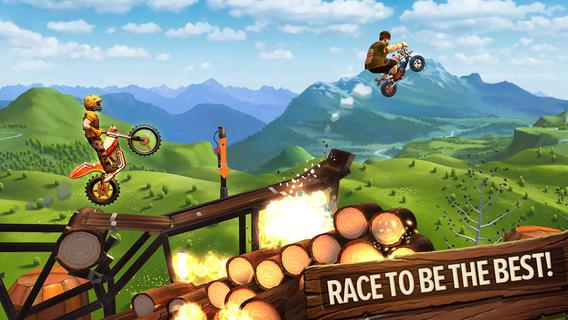 Echte Trials game iPhone iPad
