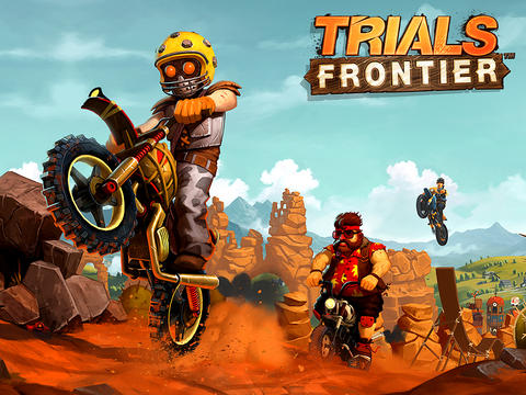 Trials Frontier iPad iPhone
