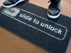slide-to-unlock-iphone-doormat-black
