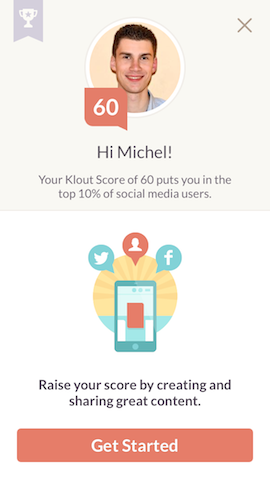 Klout - Klout Score