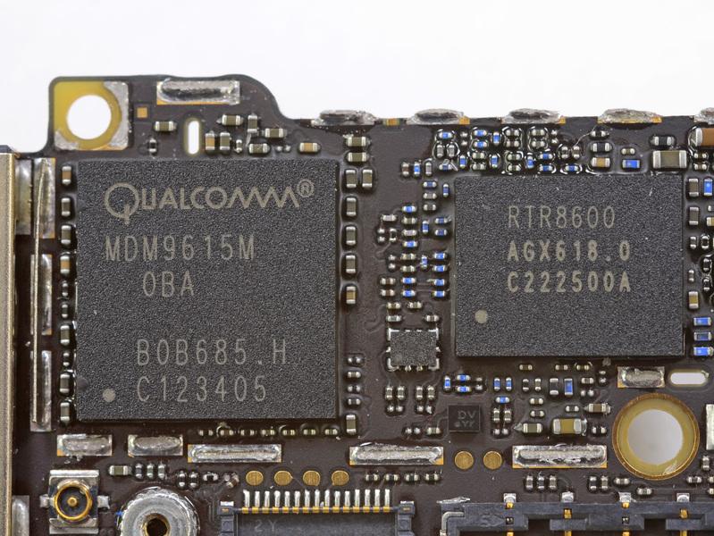 Qualcomm baseband chip iPhone 5