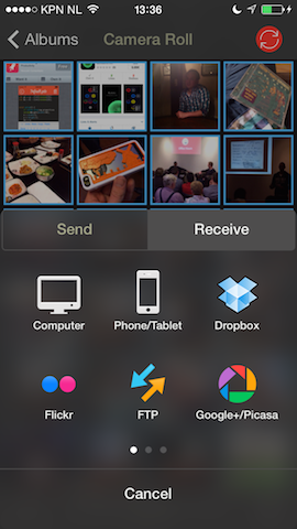 how to put androis photos on mac