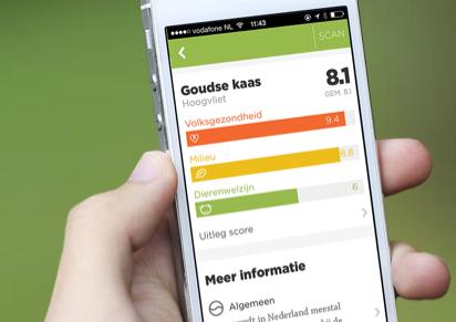 Questionmark iPhone boodschappen vergelijken
