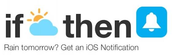 IFTTT iOS notificatie support
