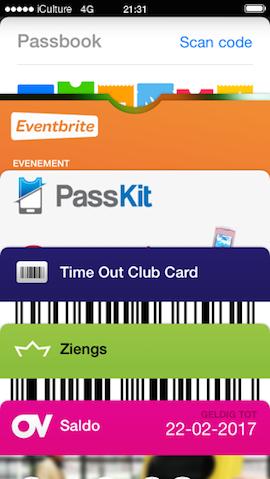 Passbook pasjes