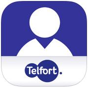 Mijn Telfort iPhone belstatus verbruik app