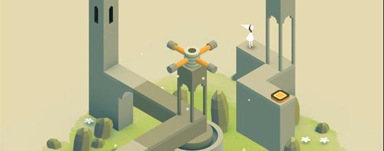 Monument Valley eerste level iOS