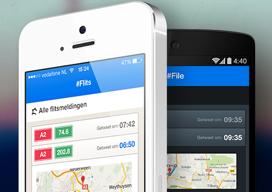 Flits iPhone en Android app