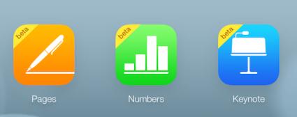 iWork voor iCloud