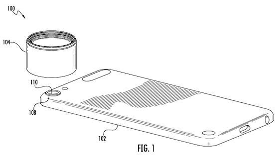 iPod touch bayonet camera lens patent
