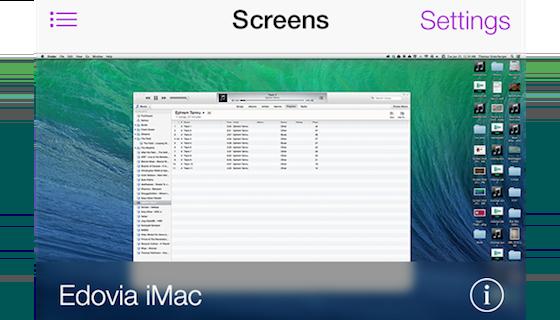Screens VNC screenshot