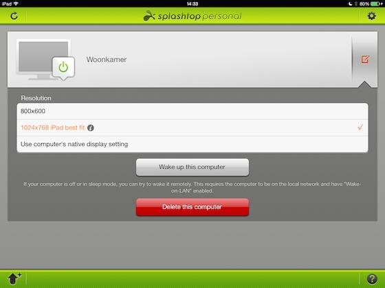 Splashtop 2 iPad