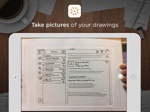 POP Prototyping iPad inscannen
