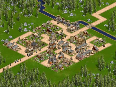 1849 stadje uitgebouwd