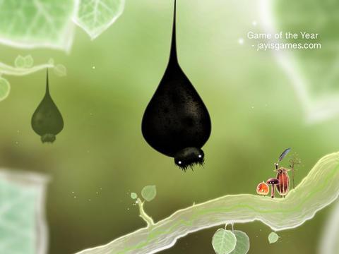 Botanicula iPad grote mot iOS