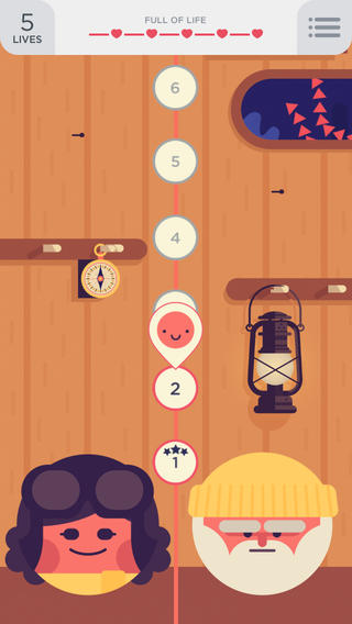 TwoDots iPhone levelstructuur