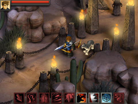 ICS Battleheart Legacy iPad iPhone screenshot