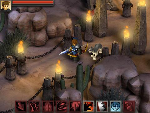 ICS Battleheart Legacy iPad iPhone screenshot